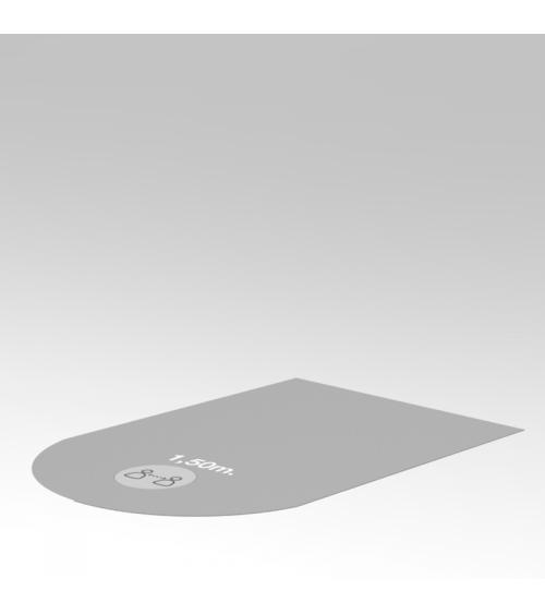 Revêtement de sol gris