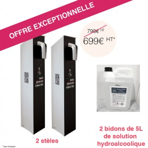 Offre exceptionnelle Pack duo